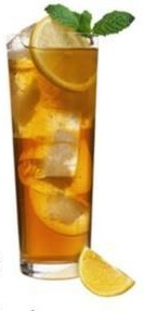 Ice tea glass blog